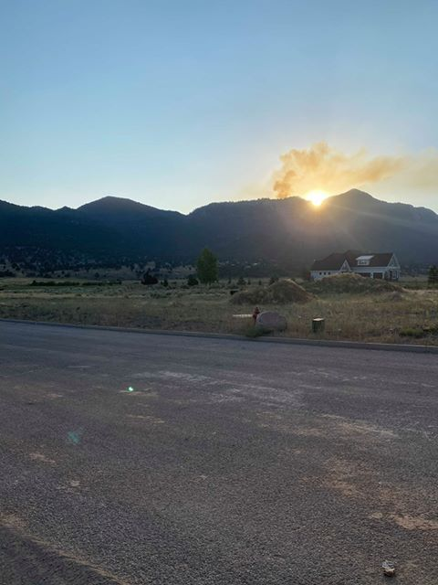 Fire in hard-to-reach area on Pine Valley Mountain at 0% ...