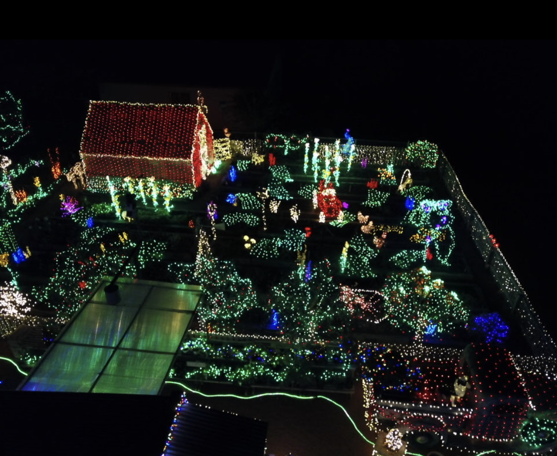 When Is Christmas Light Fight Taped 2021 Laverkin Home Business Set To Air On Abc S Great Christmas Light Fight St George News