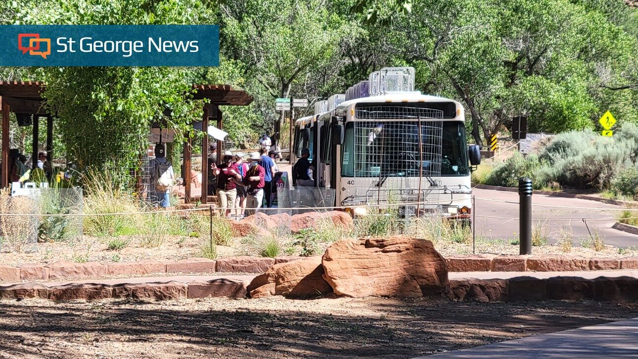 Fall operations begin for Zion National Park shuttle, campgrounds