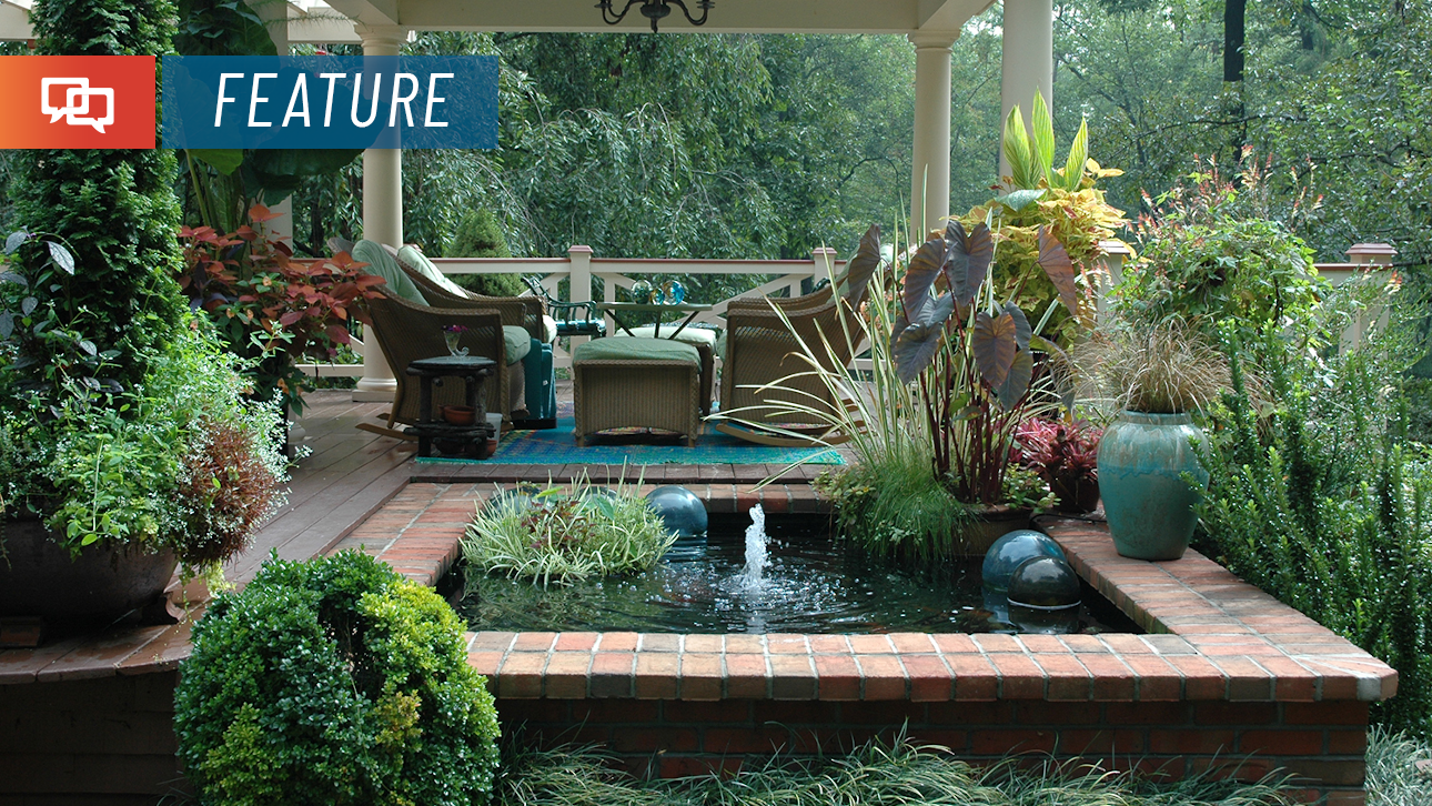 Forget the vacation: Create your own backyard paradise